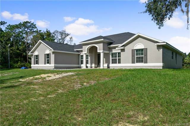 9937 W Tom Mason Drive, Crystal River, FL 34428 (MLS #785914) :: Plantation Realty Inc.