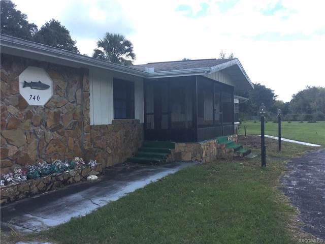 740 NE 3rd Street #160, Crystal River, FL 34429 (MLS #785999) :: Plantation Realty Inc.