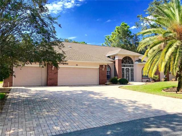 34 Linder Circle, Homosassa, FL 34446 (MLS #786242) :: Pristine Properties