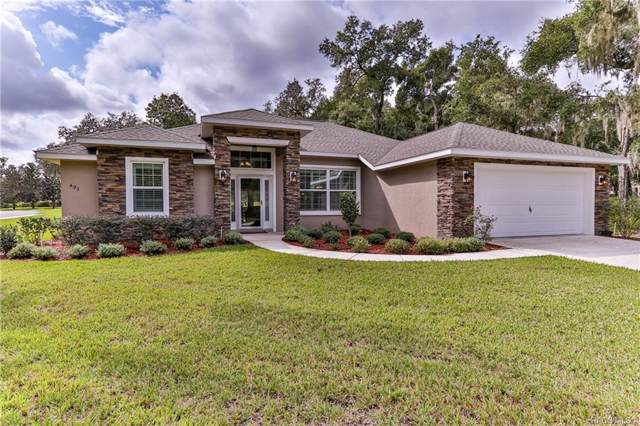 493 W Cobblestone Loop, Hernando, FL 34442 (MLS #786969) :: Plantation Realty Inc.