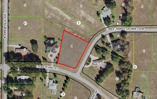 925 E Triple Crown Loop, Hernando, FL 34442 (MLS #788591) :: Plantation Realty Inc.