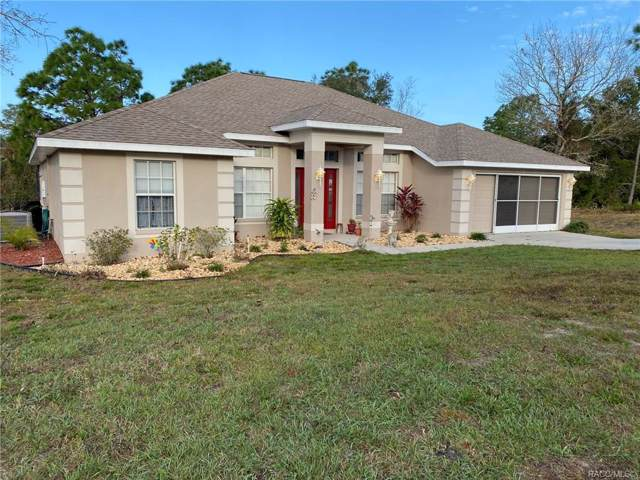 9 Nemesia Court E, Homosassa, FL 34446 (MLS #788861) :: Plantation Realty Inc.