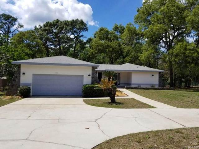 814 N Pompeo Avenue, Crystal River, FL 34429 (MLS #791987) :: Plantation Realty Inc.