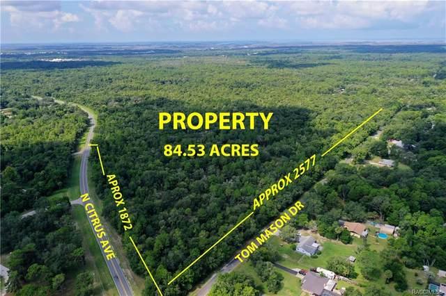 9300 W Tom Mason Drive, Crystal River, FL 34428 (MLS #793943) :: Plantation Realty Inc.