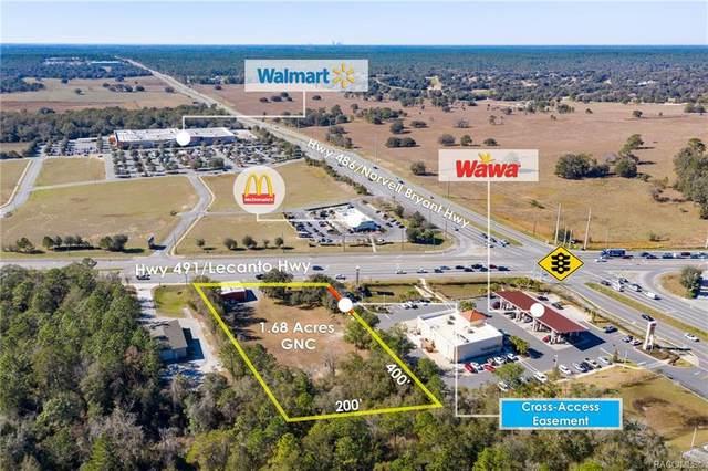 1899 N Lecanto Highway, Lecanto, FL 34461 (MLS #798348) :: Plantation Realty Inc.