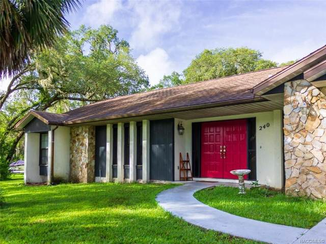 240 N Manor Way, Lecanto, FL 34461 (MLS #803082) :: Plantation Realty Inc.
