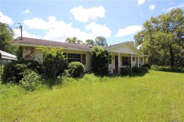 9891 S Berkshire Avenue, Inverness, FL 34452 (MLS #761908) :: Plantation Realty Inc.