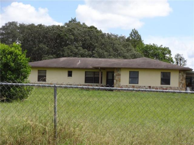 5517 S Rovan Point, Lecanto, FL 34461 (MLS #776967) :: Plantation Realty Inc.