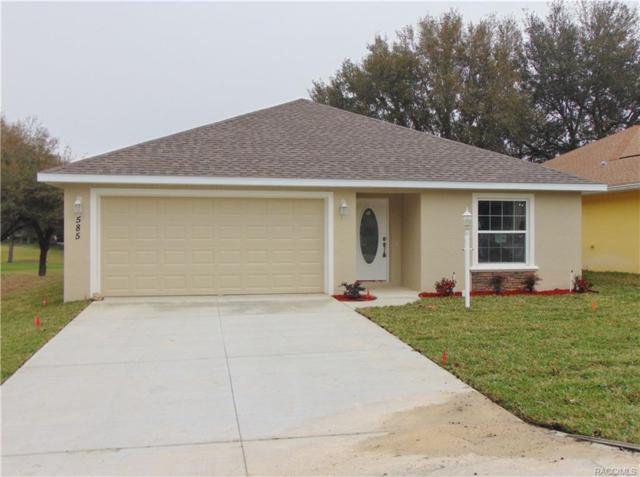 585 W Player Path, Beverly Hills, FL 34465 (MLS #762869) :: Plantation Realty Inc.