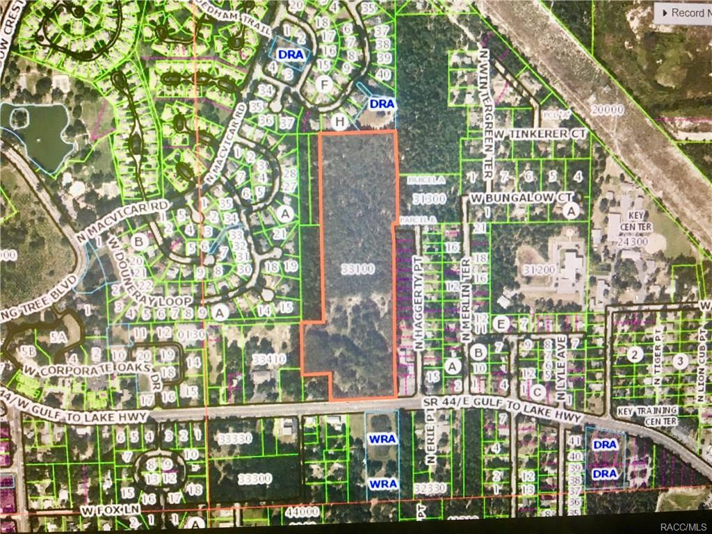 Map Of Crystal River Florida.5801 W Gulf To Lake Highway Crystal River Fl 34429 Mls 773684