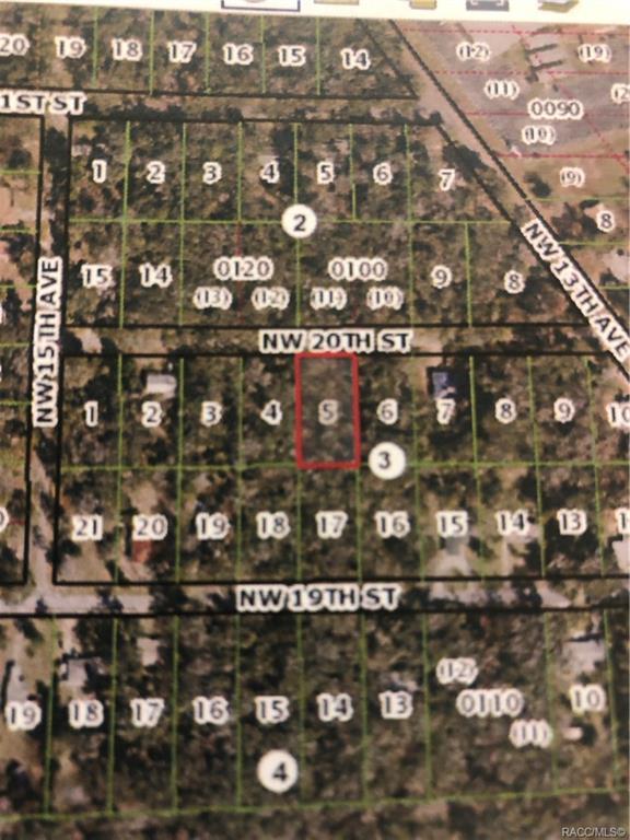 0 NW 20th Street, Crystal River, FL 34428 (MLS #779027) :: Plantation Realty Inc.