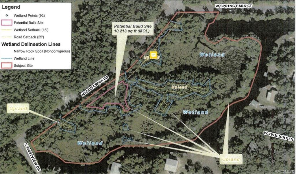 Homosassa Florida Map.6023 S Mason Creek Road Homosassa Fl 34448 Mls 779063