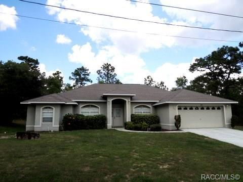 4295 W Gallagher Street, Citrus Springs, FL 34433 (MLS #783237) :: Plantation Realty Inc.