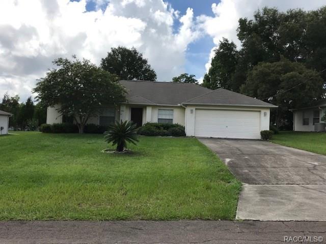 9240 N Alpinia Drive, Citrus Springs, FL 34434 (MLS #783891) :: Pristine Properties