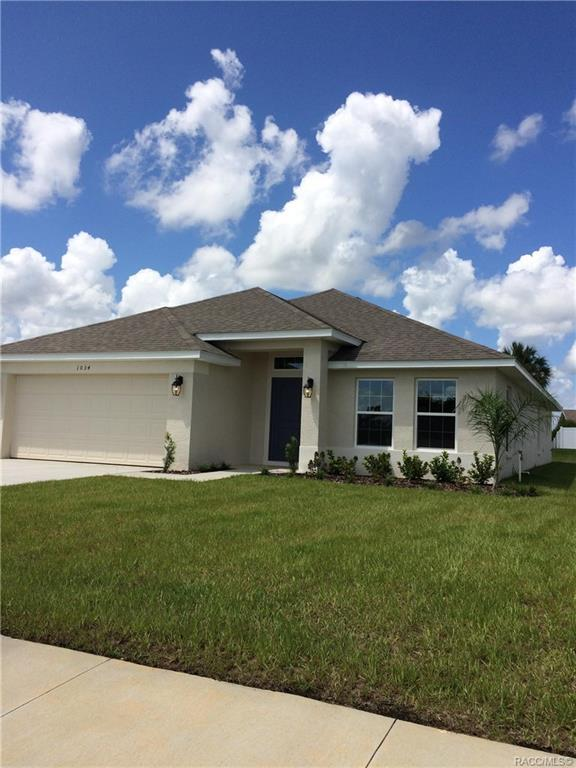 1034 S Glen Meadow Loop, Lecanto, FL 34461 (MLS #784658) :: Plantation Realty Inc.