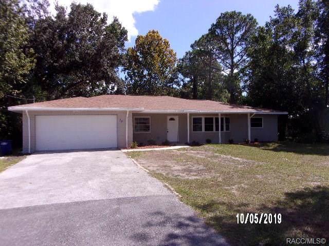 70 N Country Club Drive, Crystal River, FL 34429 (MLS #787309) :: Plantation Realty Inc.