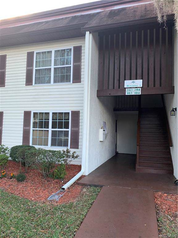 2400 Forest Drive #103, Inverness, FL 34453 (MLS #789000) :: Plantation Realty Inc.