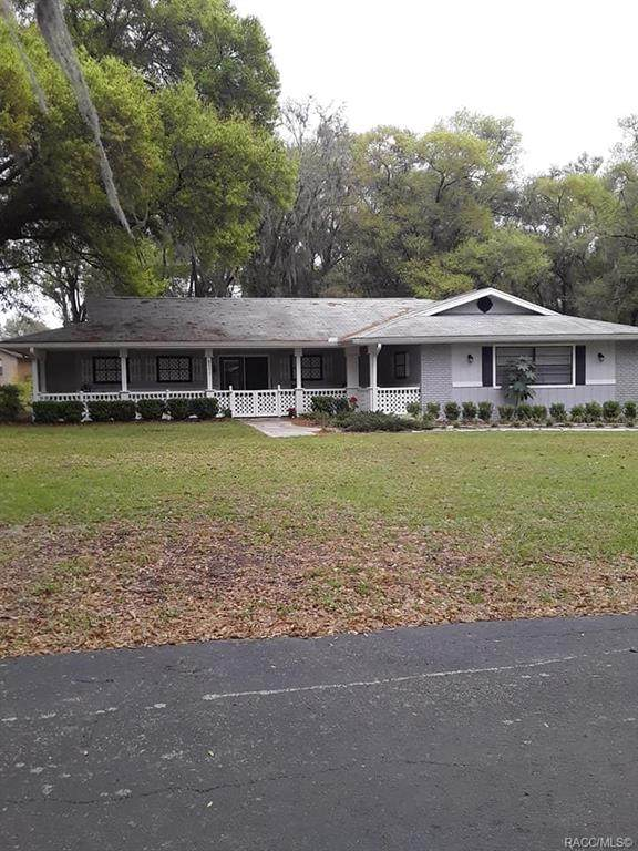 5111 S Pointe Drive, Inverness, FL 34450 (MLS #791271) :: Plantation Realty Inc.
