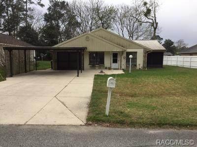21616 SW Honeysuckle Street, Dunnellon, FL 34431 (MLS #791342) :: Plantation Realty Inc.