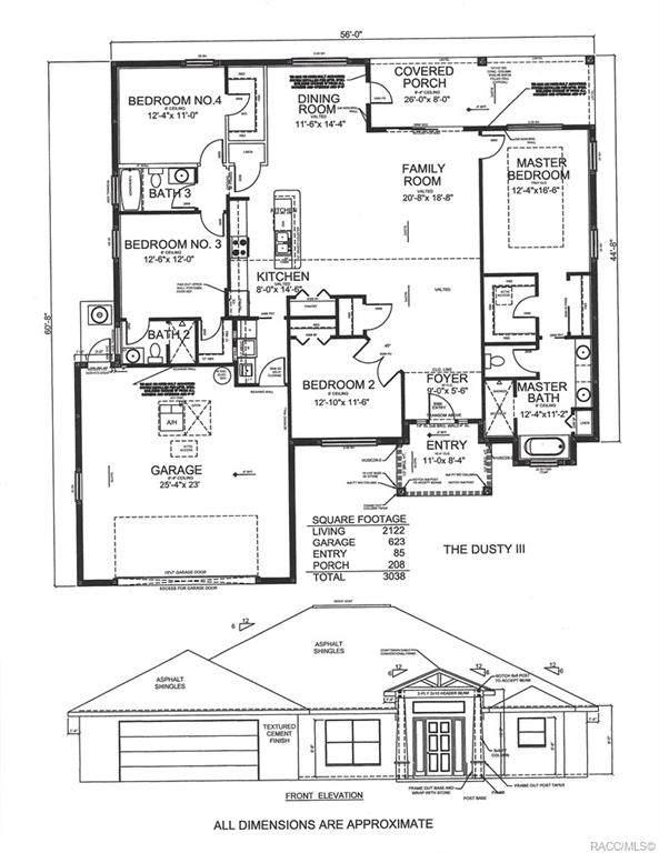 91 E Dusty Court, Hernando, FL 34442 (MLS #792156) :: Plantation Realty Inc.