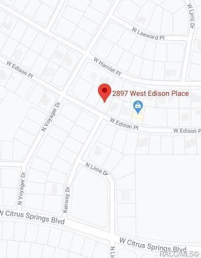 2897 W Edison Place, Citrus Springs, FL 34433 (MLS #793164) :: Pristine Properties