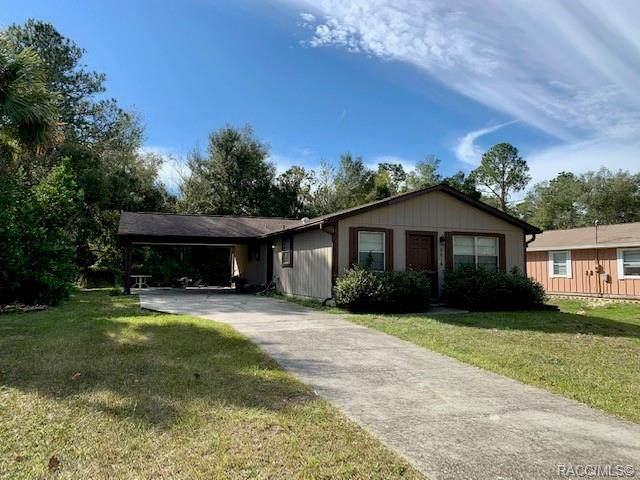 9614 W Pimpernel Lane, Crystal River, FL 34429 (MLS #796799) :: Plantation Realty Inc.