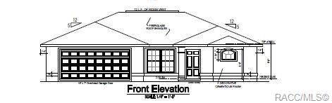 9176 N Golfview Drive, Citrus Springs, FL 34434 (MLS #798019) :: Plantation Realty Inc.