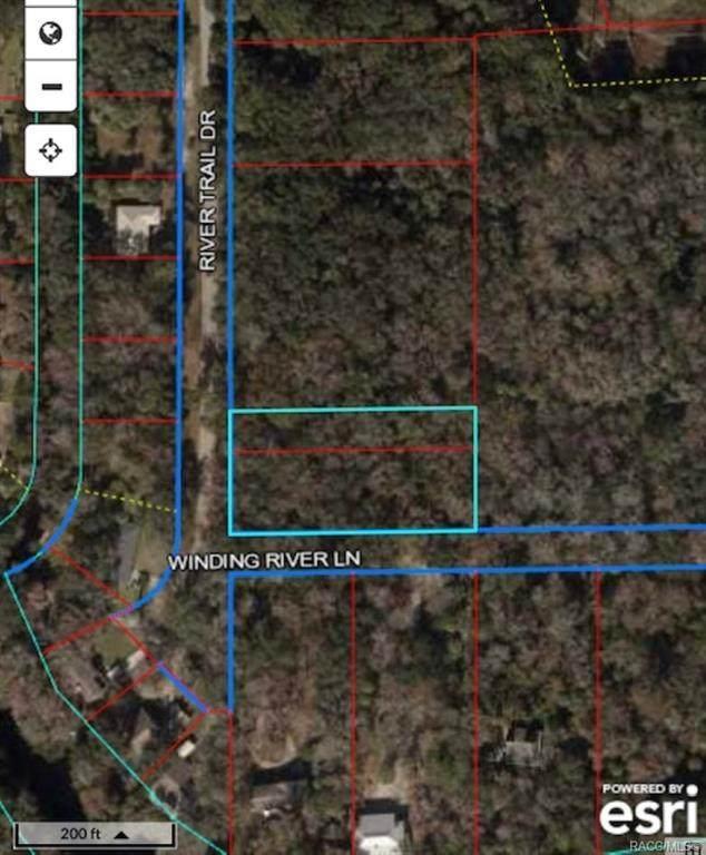 0 Winding River Lane, Inglis, FL 34449 (MLS #798614) :: Plantation Realty Inc.