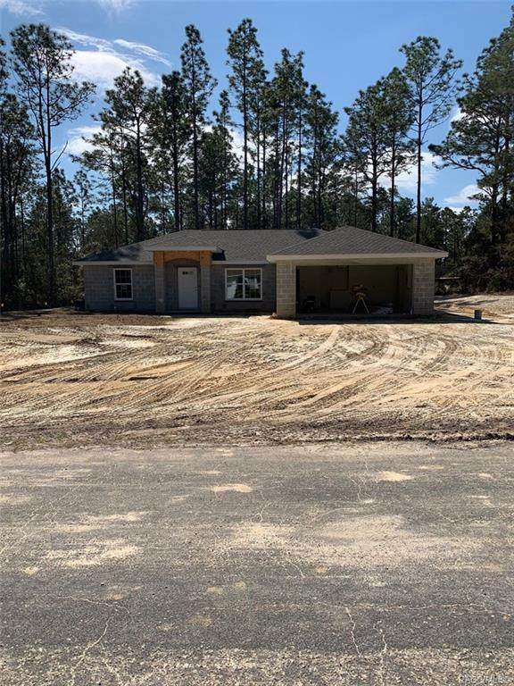 3364 W Edison Place, Citrus Springs, FL 34433 (MLS #799027) :: Plantation Realty Inc.