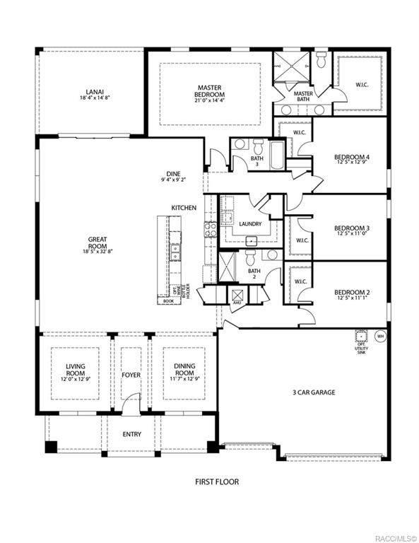 5547 N Nakoma Drive, Beverly Hills, FL 34465 (MLS #805988) :: Plantation Realty Inc.