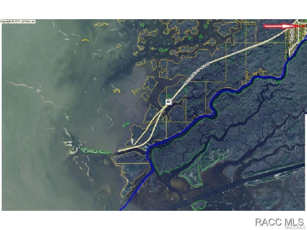 Hickory Lot  Street Yankeetown FL  MLS - Yankeetown florida map