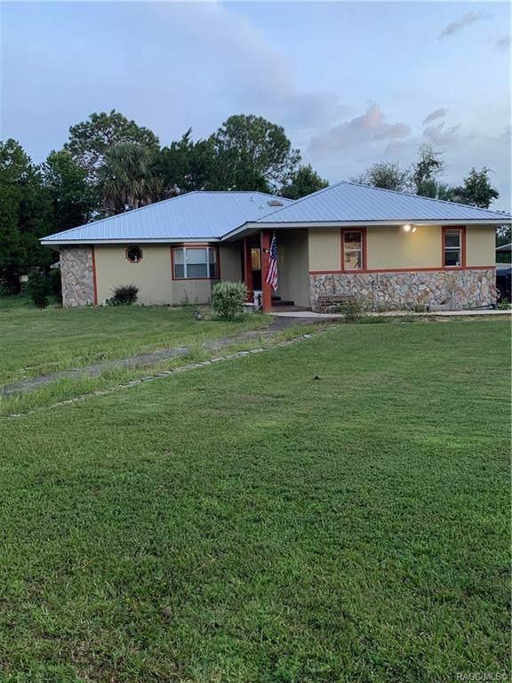 2894 N Carolina Road, Crystal River, FL 34428 (MLS #786300) :: Pristine Properties