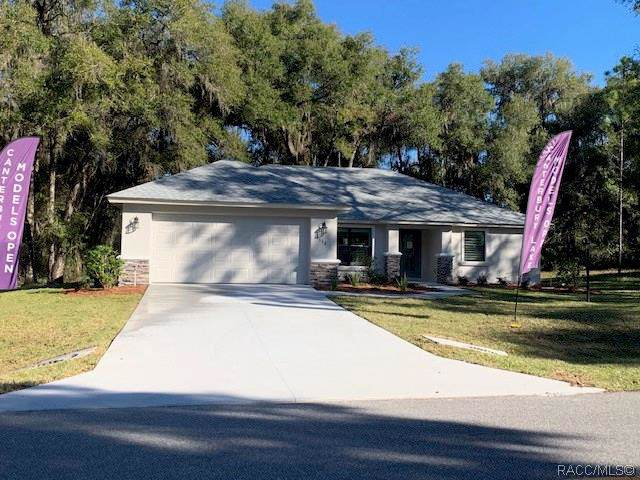 2552 N Canterbury Lake Drive, Hernando, FL 34442 (MLS #788816) :: Plantation Realty Inc.