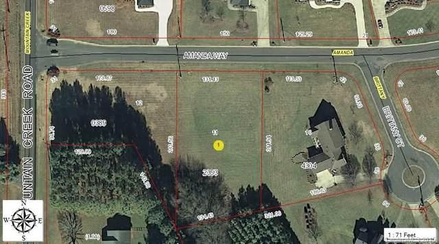 Lot 11 Amanda Way, Albemarle, NC 28001 (#3010186) :: Carver Pressley, REALTORS®