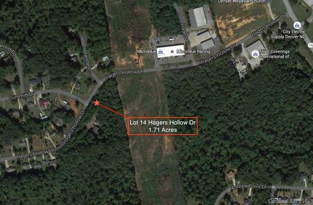 Lot 14 Hagers Hollow Drive, Denver, NC 28037 (#3167820) :: Stephen Cooley Real Estate Group
