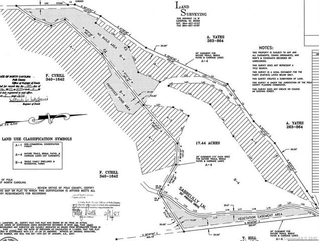 0 Sabrelilly Lane, Columbus, NC 28722 (#3214073) :: DK Professionals Realty Lake Lure Inc.