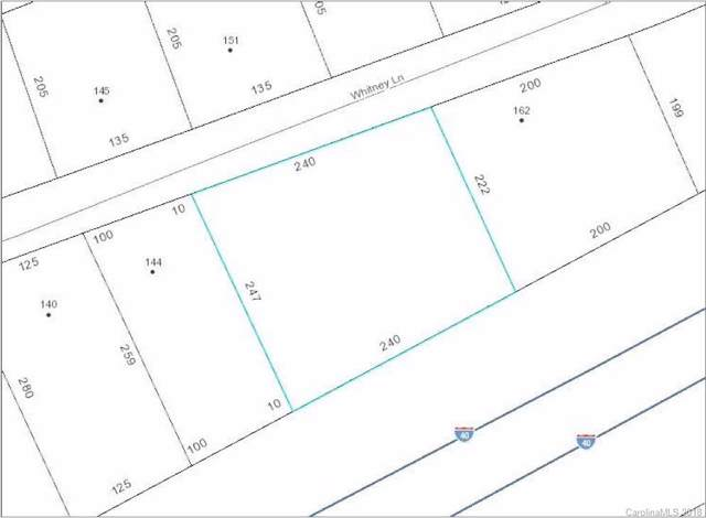 1.28 acre Whitney Lane, Statesville, NC 28625 (#3432073) :: Premier Realty NC