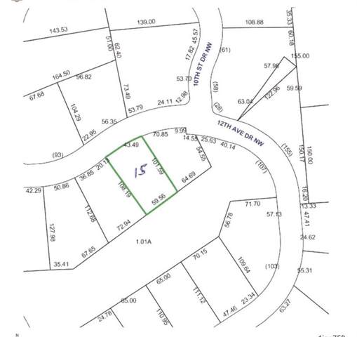 1057 12th Avenue Drive NW #15, Hickory, NC 28601 (#3440663) :: MartinGroup Properties