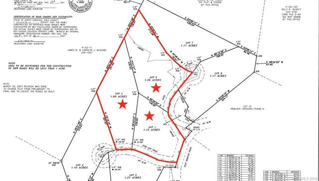 0000 Flat Branch Road 1, 5, & 6, Mill Spring, NC 28756 (#3495481) :: Rinehart Realty