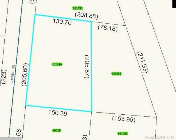 0 Correll Drive, Lincolnton, NC 28092 (#3510087) :: Robert Greene Real Estate, Inc.