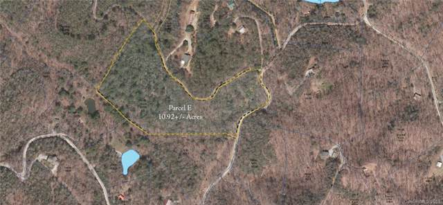 000 Line Runner Ridge Road Parcel E, Rosman, NC 28772 (#3517448) :: Robert Greene Real Estate, Inc.