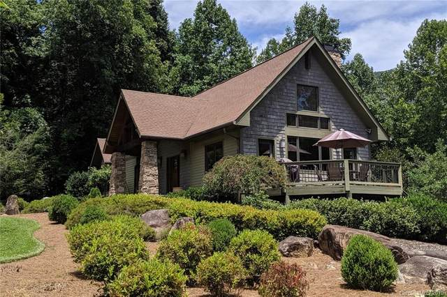 111 Chapel Point Road, Lake Lure, NC 28746 (#3533442) :: High Performance Real Estate Advisors
