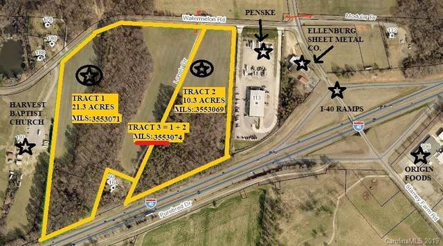 31.5 ac Watermelon Road, Statesville, NC 28625 (#3553074) :: LePage Johnson Realty Group, LLC
