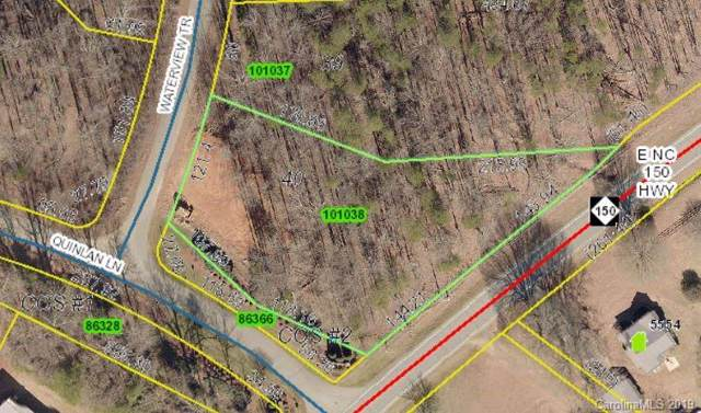 Lot 40 Waterview Trail, Lincolnton, NC 28092 (#3556889) :: Exit Realty Vistas
