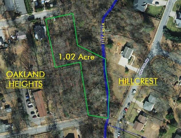 Lot A 8th Avenue NW, Hickory, NC 28601 (#3561050) :: Exit Realty Vistas