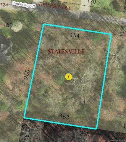 0 Cambridge Place #1, Statesville, NC 28625 (#3563175) :: MartinGroup Properties