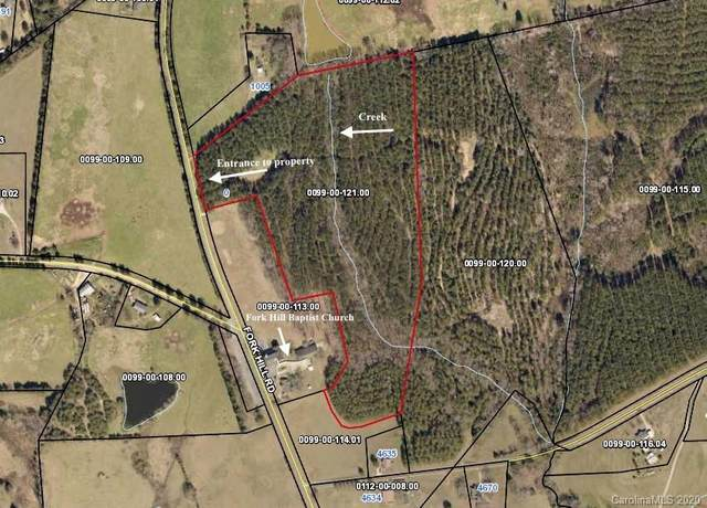 00 Fork Hill Road, Heath Springs, SC 29058 (#3578549) :: BluAxis Realty