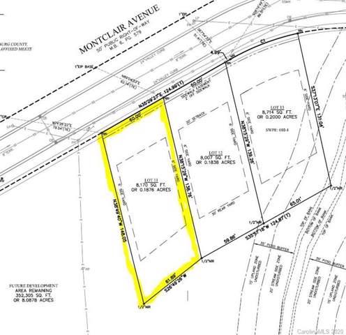 4534 Montclair Avenue #11, Charlotte, NC 28204 (#3578831) :: Stephen Cooley Real Estate Group