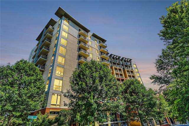 701 Royal Court #1004, Charlotte, NC 28202 (#3582474) :: Roby Realty
