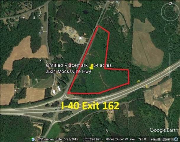 34.4 AC Mocksville Highway, Statesville, NC 28625 (#3587751) :: Carlyle Properties